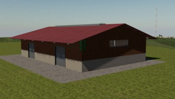 Lizard Shed With Gates fs19