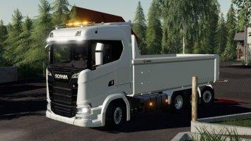 Scania S730 HKL tipper fs19