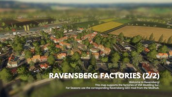 Seasons GEO: Ravensberg Fabriken v1.1.0.1 fs19