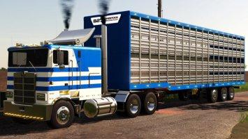 TLX 48Ft Livestock Trailer fs19