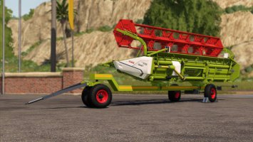 Claas Cutter Trailers fs19