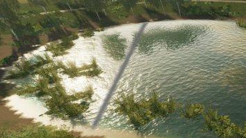 Überarbeitete Wassertextur (Prefab) fs19