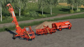 Sugar Beet Harvester Pack fs19