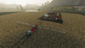 Controlled Traffic Farming fs19