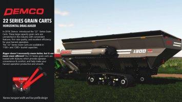 Demco 22 Series Grain Carts v1.0.0.1 fs19