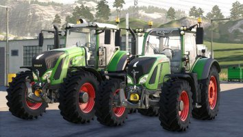 Fendt Pack with IfkoS fs19