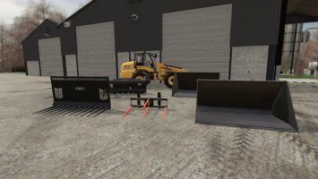 JCB Telehandler Attachments fs19