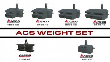 ACS Weight Pack v1.0.1.0 fs19