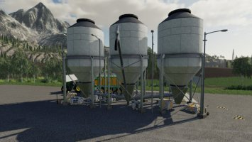 Fillable Storage For Lime/Fertilizer And Seeds fs19