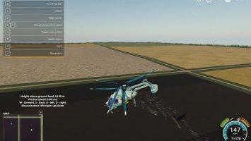 Helicopter Ka-26 agricultural v1.0.0.1 fs19