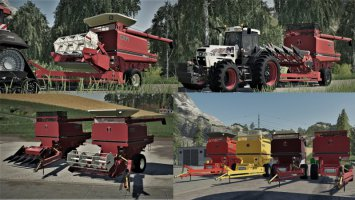 IHC International Harvester Company PullType Combine fs19