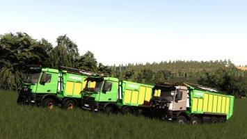 Mercedes Arocs Agrar 8x8 Joskin Edition fs19