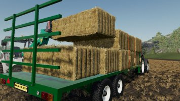 Bailey Bale And Pallet Trailer fs19