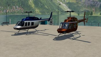 Bell 206L fs19
