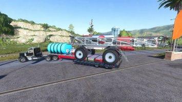 Lodeking Sprayer Support And Deck fs19