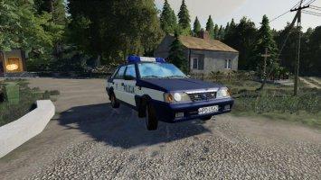 polonez caro POLICJA fs19