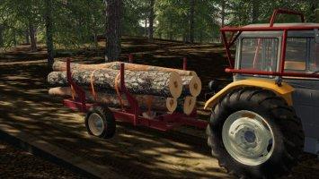 Selfmade Forest Trailer v1.0.0.1 fs19
