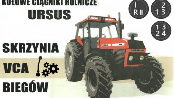 Skrzynia biegów Ursusy 902-1614 itp. fs19