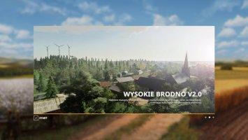 Wysokie Brodno V2.0 4X MAP fs19