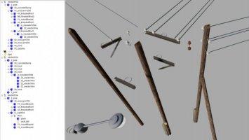 Kit For Power Lines (Prefab) fs19