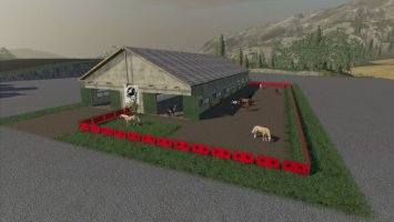 Large Spanish Horse Stable fs19