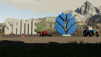 Placeable New Holland And Same Logos fs19
