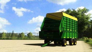 John Deere 716a Forage Wagon fs19
