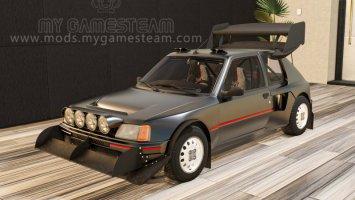Peugeot 205 Turbo 1984 v1.1 fs19
