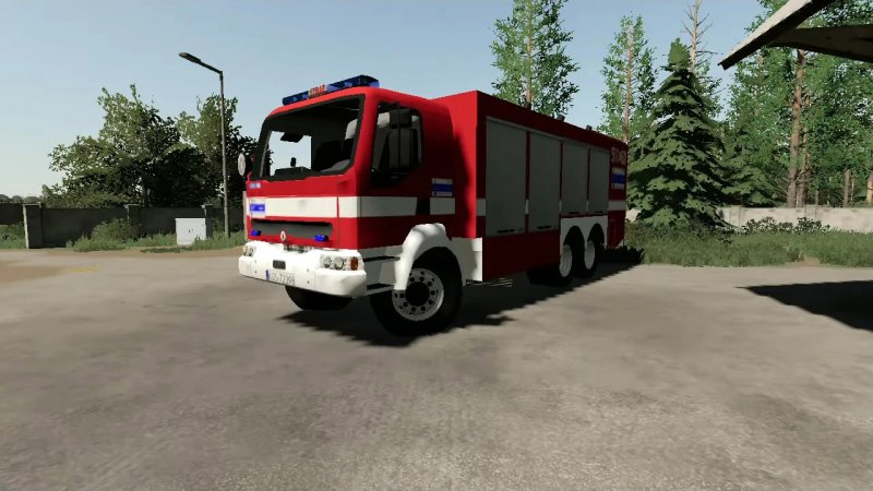 Renault Kerax SCRchem ISS Wawrzaszek 511[K]60 JRG Oświęcim FS19
