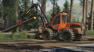 Sampo HR46 Multitrac And 3P Adapter FS19