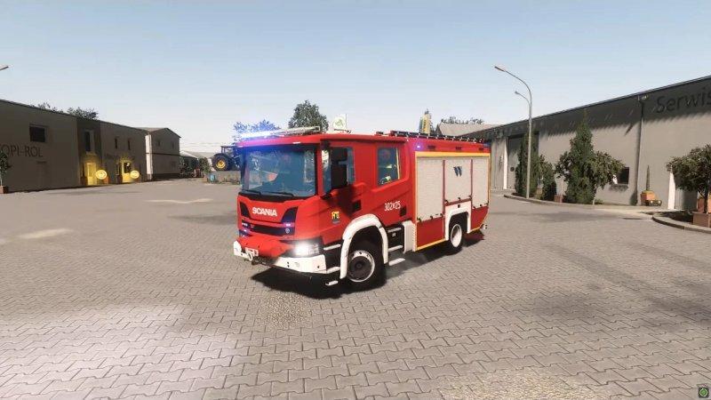 Scania P410 XT GCBA / WISS JRG 2 Katowice FS19