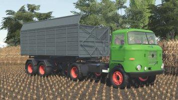 Fortschritt HLS 130.11 Semitrailer fs19