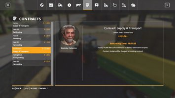 Supply & Transport Contracts fs19